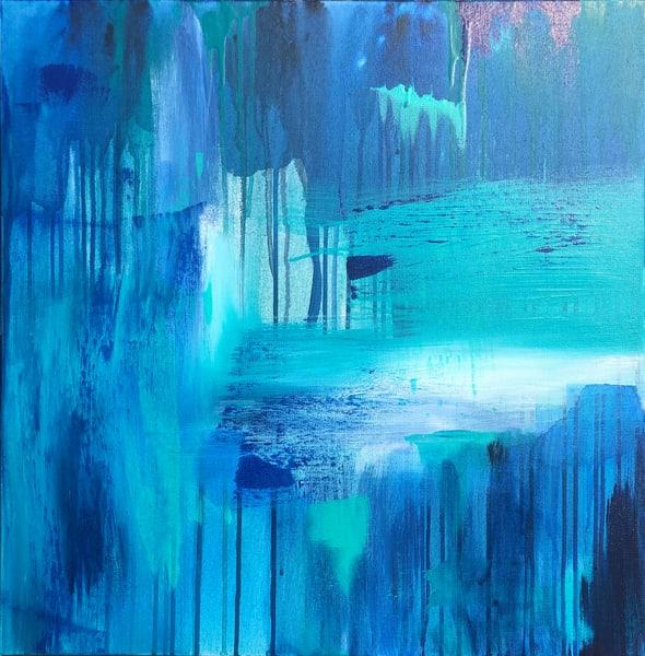 Falling Water (Original) Art | Jen Sterling LLC