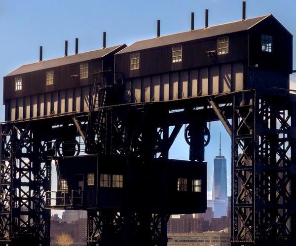 Abandoned Cargo Loader, Long Island City Photography Art | Ben Asen Photography