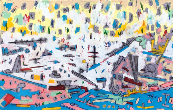 Decisive Moment By The Harbor Art | Wet Paint NYC