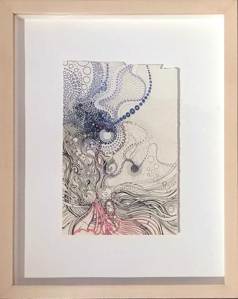 Underwater Inspired 2, 2017 Art | Artist Rachel Goldsmith, LLC