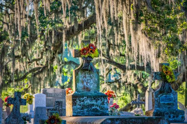 Final Cajun resting place - Louisiana fine-art photography prints