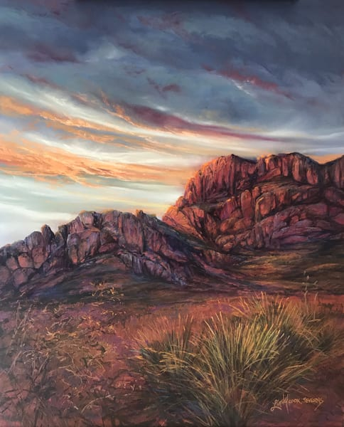 Lindy Cook Severns Art | After the Darkest Hour, original pastel