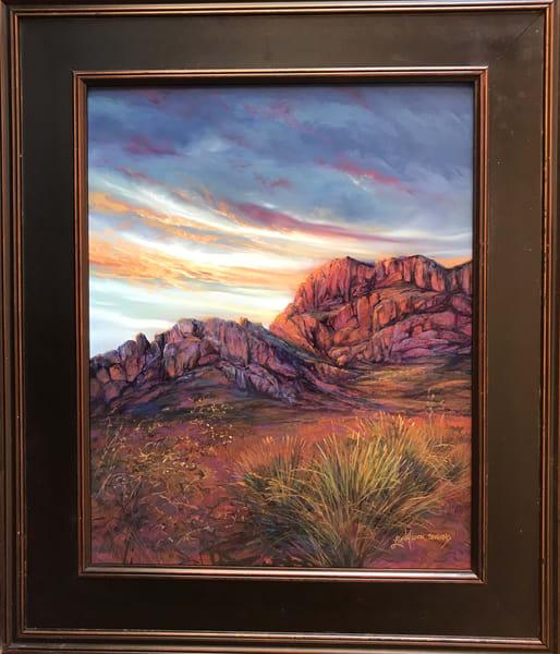 Lindy Cook Severns Art | After the Darkest Hour, original pastel