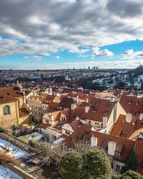 The Rooftops of Prague - Art Print