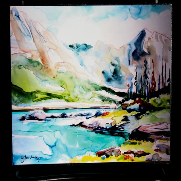 Medicine Lake Regrowth | Karen Bishop Artist