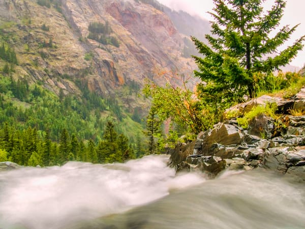 Mountain Rush | Mountain Landscape Photography Print