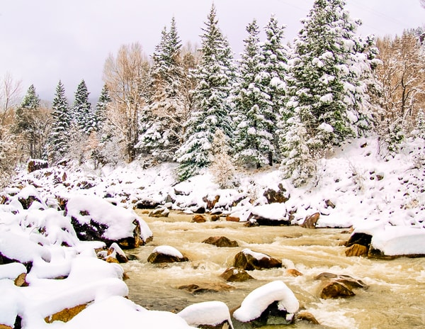 Snowy River | Nature Art Photography