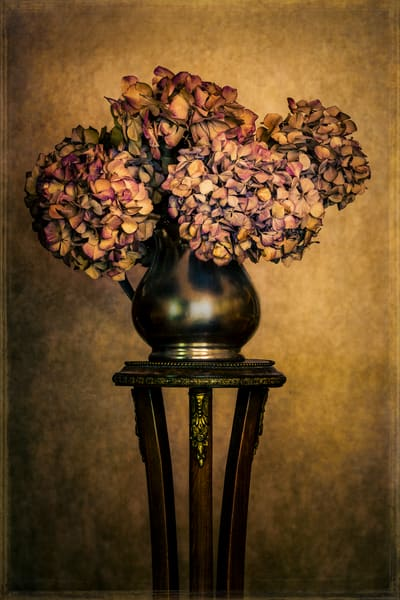 Hydrangea Arrangement Photography Art | Doug Landreth Photography