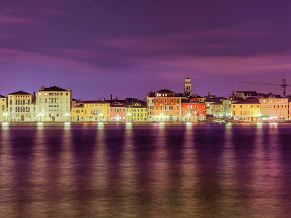 Venice Night Glow | Urban Art Photography Print