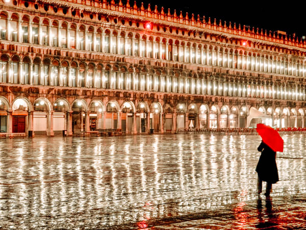 Venice In The Rain | Urban Art Photography Print