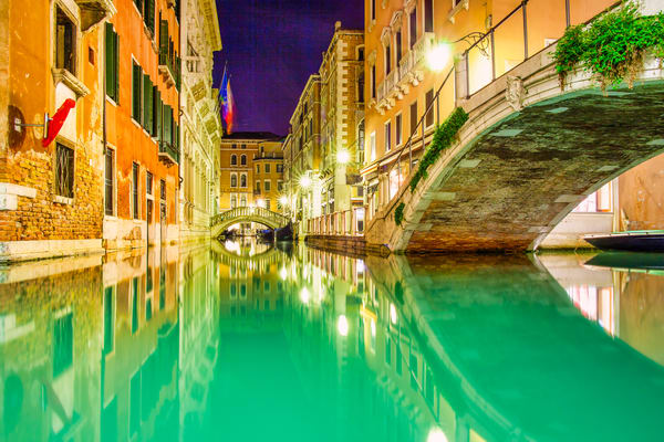 Venice Canal Bridge | Urban Art Photography Print