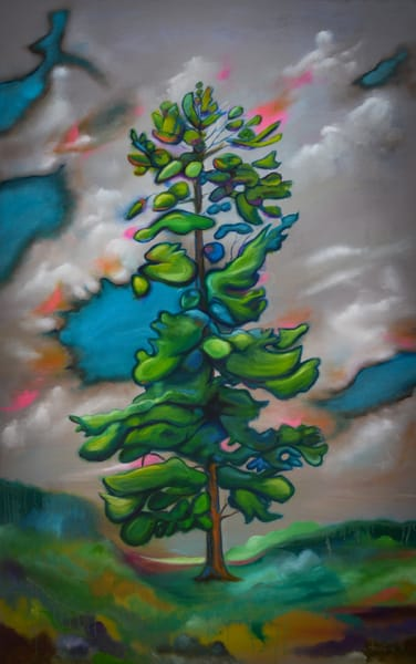 Spirit Tree original oil on canvas