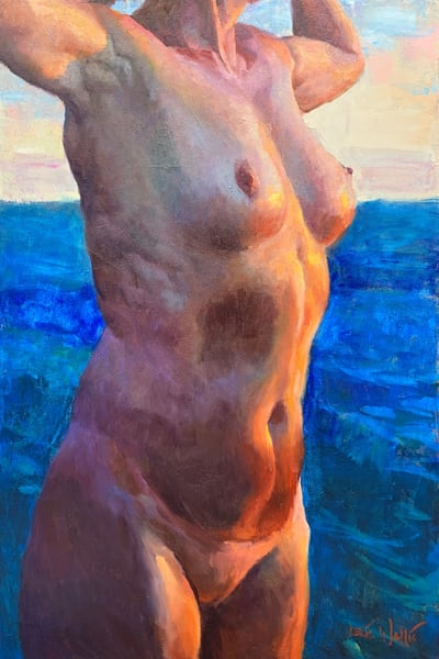 Arms Raised by Eric Wallis