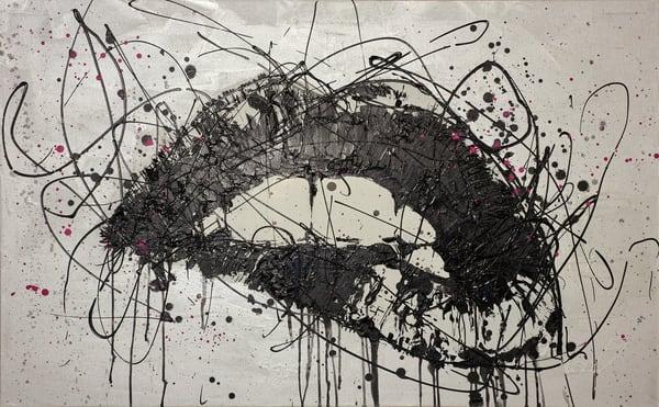 Fuschia Lips Art | Asaph Maurer