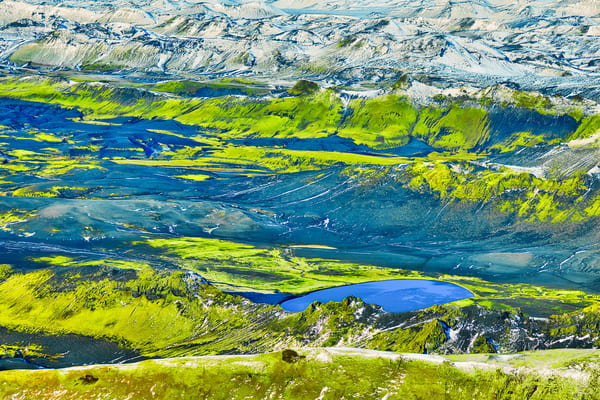 Iceland Aerial | Nature Art Photography