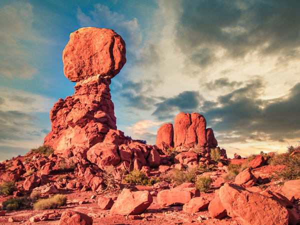Balanced Rock Moab | Desert Landscape Fine Art Photography