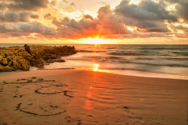Colombia Sun Burst | Tropical Landscape Photography Print