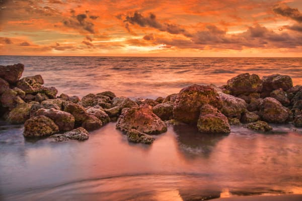 Cartagena Caribbean Sunset | Sunset Photography Print