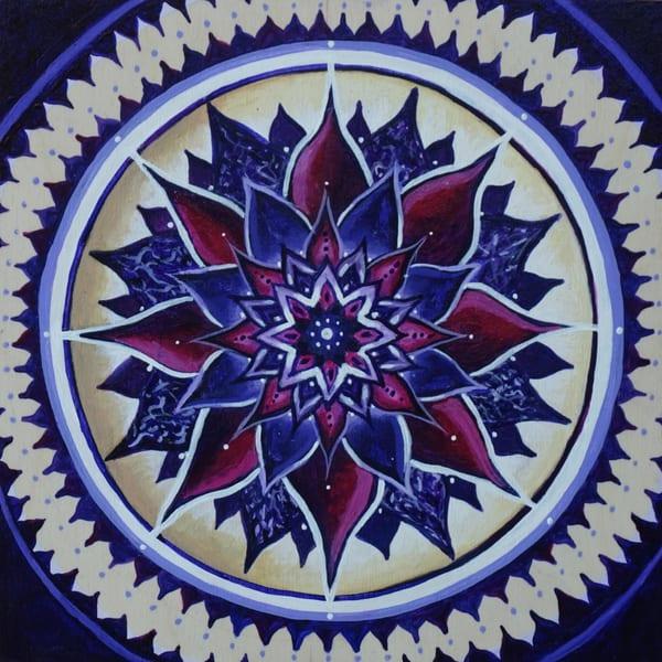 Crown Chakra Art | Monique Cudbertson Art