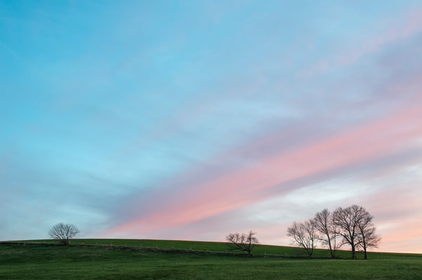 Horsebarn Hill Sunset Photography Art | Kim Bova Photography