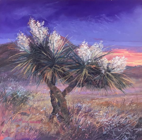 Lindy Cook Severns Art | Sunset Fragrance, original pastel