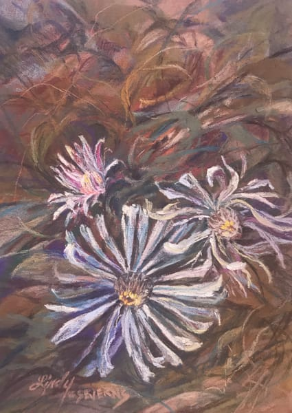 Lindy Cook Severns Art | Buried Treasure, original pastel