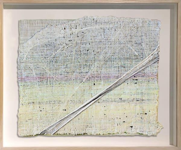 White Weaving, 2017 Art | Artist Rachel Goldsmith, LLC