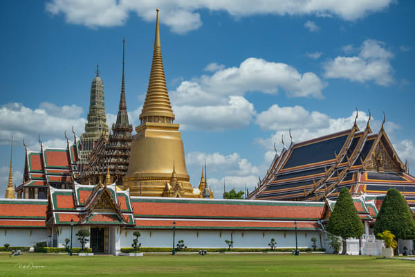 Thailand Series: Wat Phra Si Rattana Satsadaram Photography Art | Robert Shugarman Photography