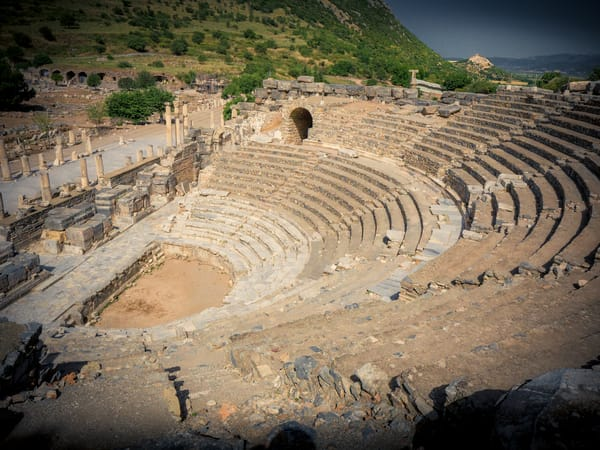 Ephesus Odeon Art | Randy Sedlacek Photography, LLC
