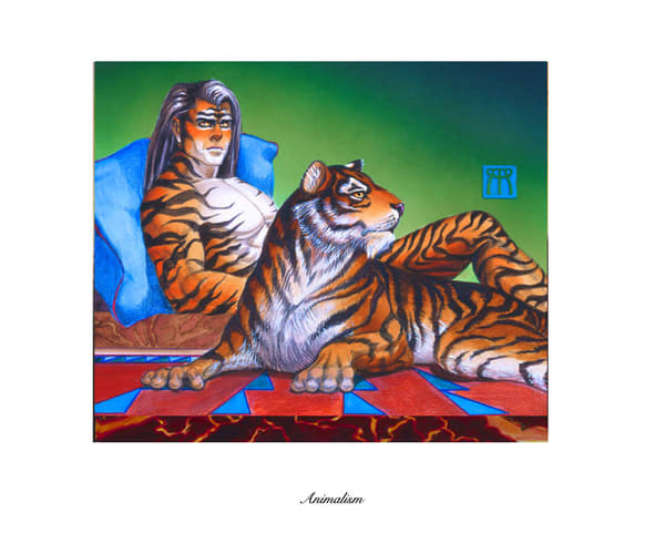 Framed Animalism Limited Edition Print