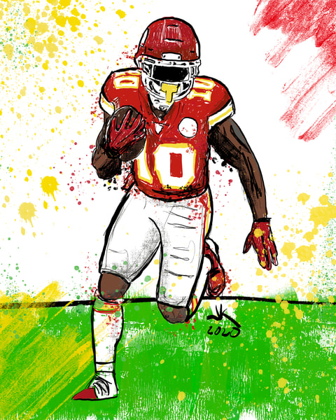 Tyreek Hill, Kansas City Chiefs