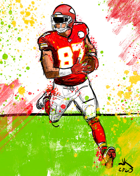 Travis Kelce, Kansas City Chiefs, Tight End