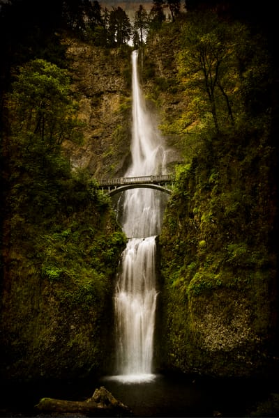 Multnomah Falls Photography Art   Doug Landreth Photography