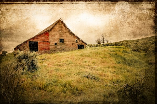 Old Red Barn Photography Art | Doug Landreth Photography