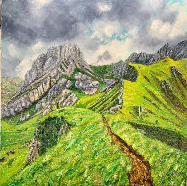 Paseo Por Las Montanas Art | Ralwins