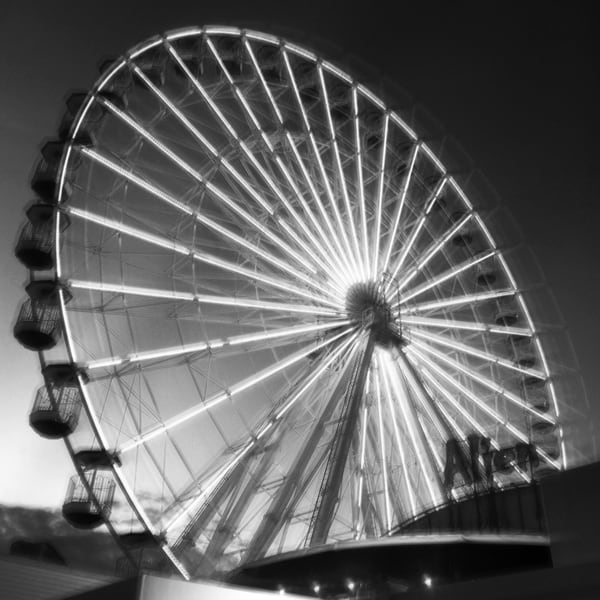 Ferris Wheel Photography Art | Roman Coia Photographer