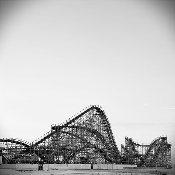 Roller Coaster Photography Art | Roman Coia Photographer
