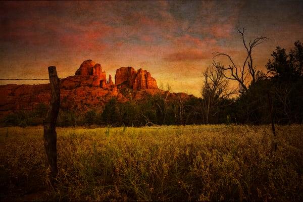 Sedona Dusk Photography Art | Doug Landreth Photography