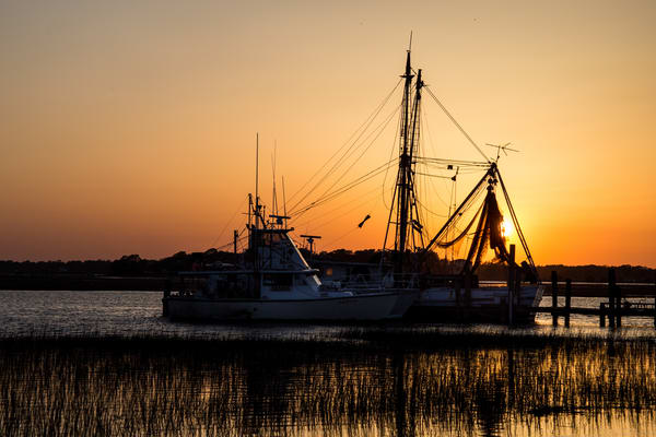 Boats At Sunset Photography Art   The Scattered Artist