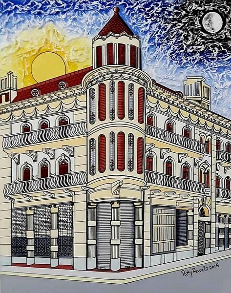 Patty Ravelo Edificio Morey 24x30 600 Art | Ralwins Art Gallery