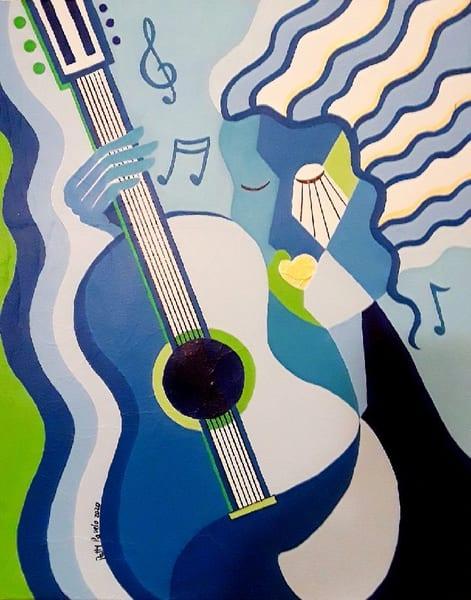 Patty Ravelo The Sound Of Silence 16x20 350 Art | Ralwins Art Gallery