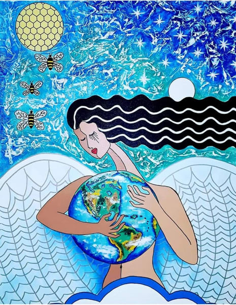 Patty Ravelo Madre Tierra 18x24 350 Art | Ralwins Art Gallery