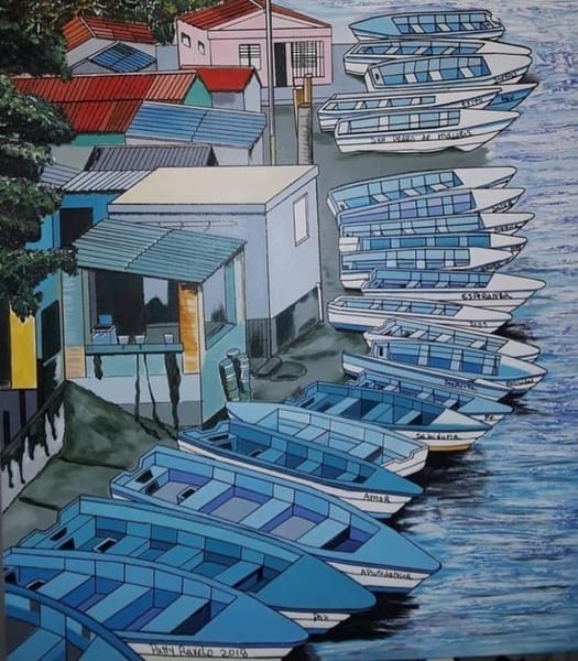 Rio Higuamo Art | Ralwins Art Gallery