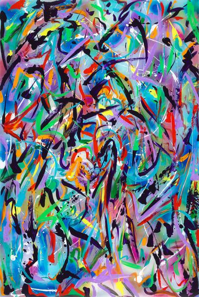 Forward thinking   Abstract Art   JD Shultz Art