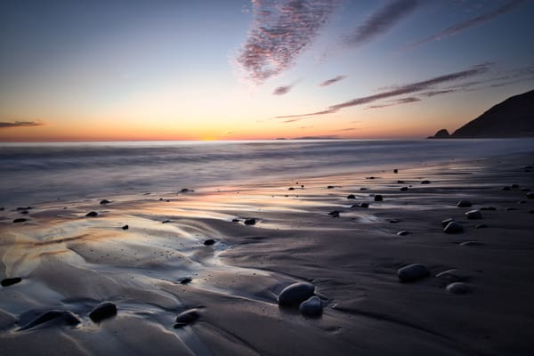 Tidal Currents At Sunset Photography Art | Chad Wanstreet Inc