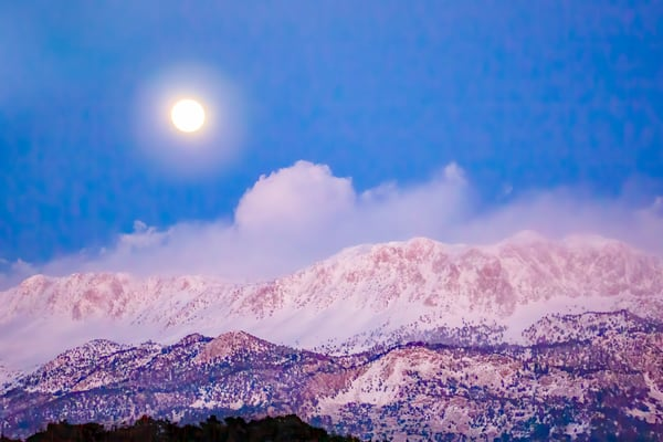 Moonrise Photography Art | Laura Tidwell Photography