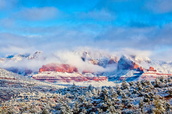Sun And Snow Photography Art | Laura Tidwell Photography