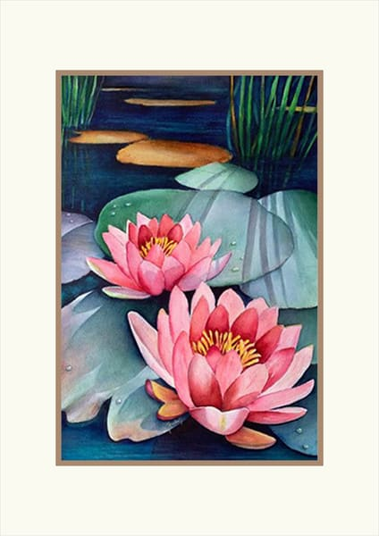 Morning Dew, Original Watercolor Painting
