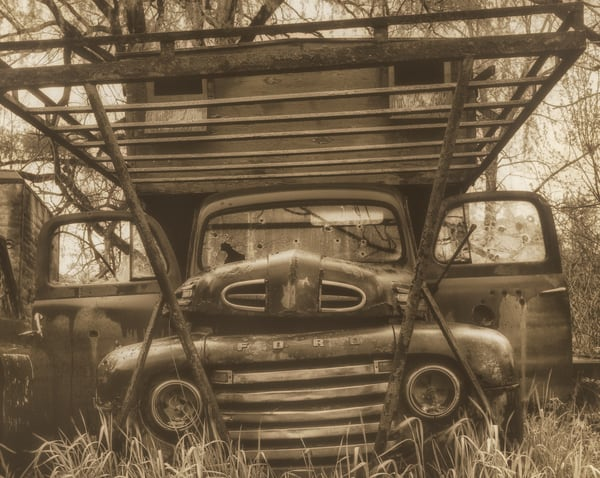 Ford In A Field Photography Art | Mark Steele Photography Inc