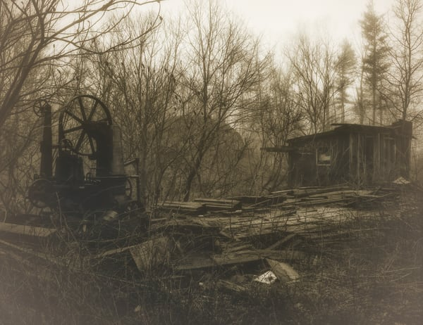 Sawmill Clarion Pa Photography Art | Mark Steele Photography Inc